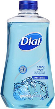 Dial Spring Water Antibacterial Hand Soap with Moisturizer Refill 32 oz
