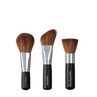 VEGAN LOVE Flawless Face Angled Face Brush Trio