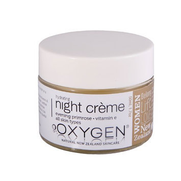 Oxygen Hydrating Night Crème for All Skin Types