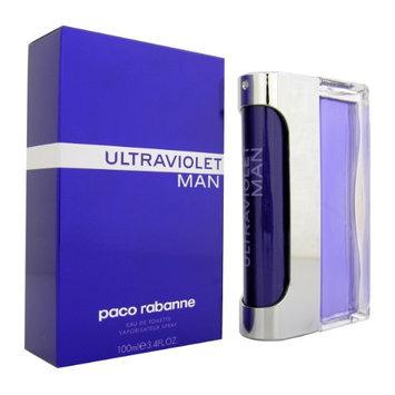 Ultraviolet By Paco Rabanne For Men. Eau De Toilette Spray 3.4 Ounces