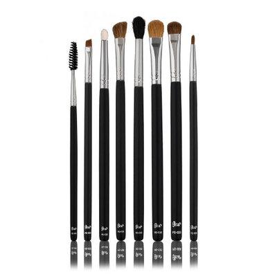Petal Beauty 8 Brush Set+Bonus Lip Brush-Eye Liner