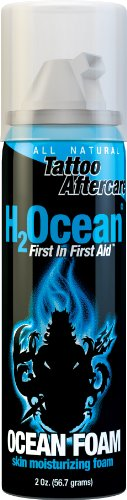 H2Ocean Ocean Foam Tattoo Aftercare