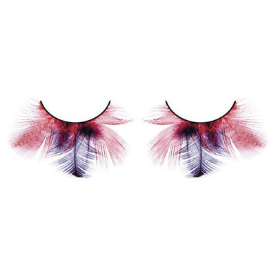 Baci Paradise Dreams Style No.622 Feather Eyelashes with Adhesive Included