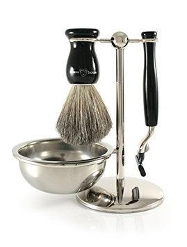 Edwin Jagger Shaving Gift Set - Pure Badger Shaving Brush