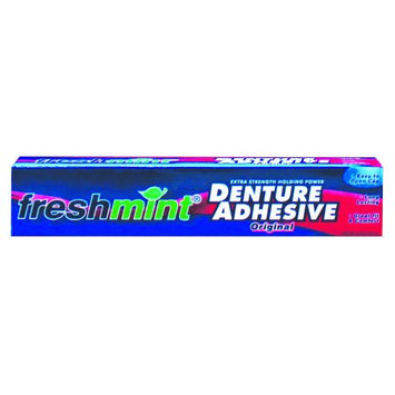 Freshmint NWI-DA2-72 Freshmint Extra Strength Denture Adhesive original Toothpaste 72 per Case