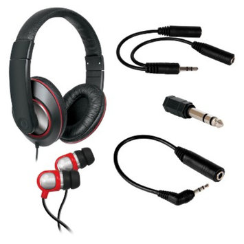 DreamGear i.Sound 5-in-1 Ultimate Audio Bundle (DGHP-4003)