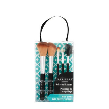 Danielle Exotic Escapes Make Up Brush Set with Stand