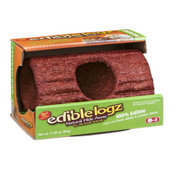 Edible Logz Natural Hide Away