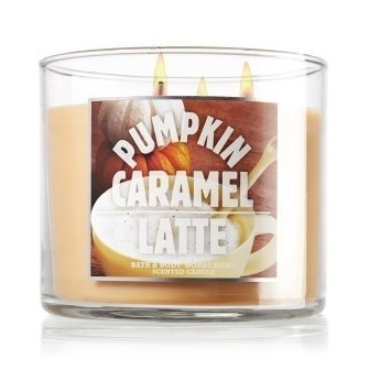 Bath & Body Works® Pumpkin Caramel Latte 3-Wick Candle