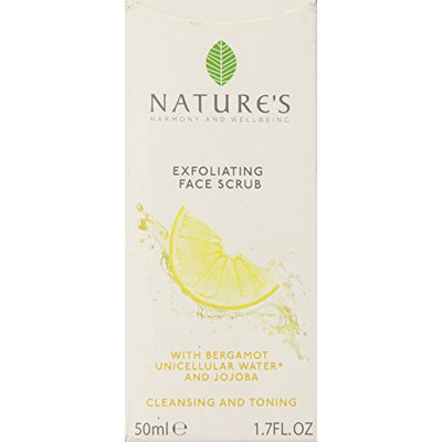 Nature's Exfoliating Face Scrub