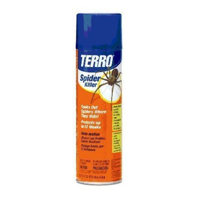 TERRO 2300 16-Ounce Spider Killer Aerosol