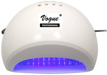 Vogue Professional Led Fast and Easy Focus LED Lamp Nail Sealer