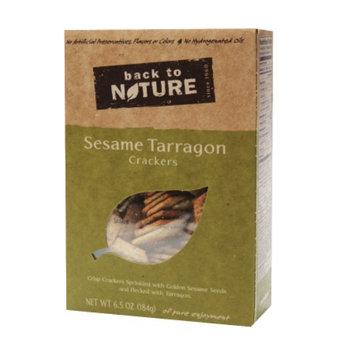 Back to Nature Sesame Tarragon Crackers, 6.5 oz