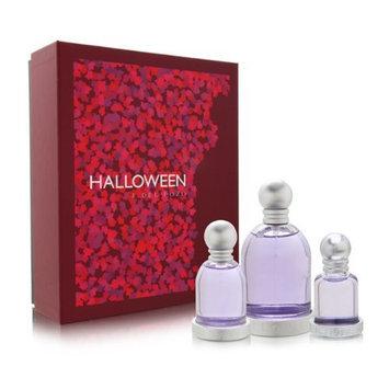 Jesus Del Pozo Halloween Perfume 3 Piece Gift Set for Women (Eau de Toilette Spray 3.4 Ounce