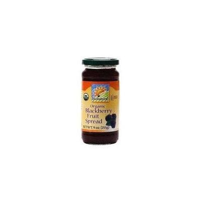 Bionaturae 100% Organic Wild Blackberry Fruit Spread (12x9oz)