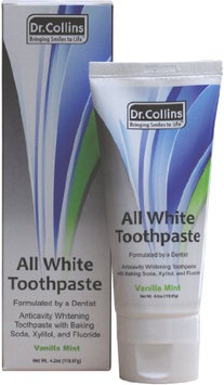 Dr. Collins All White Toothpaste