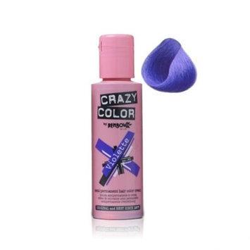 Crazy Color Semi Permanent Hair Color Cream Violette No.43 100ml