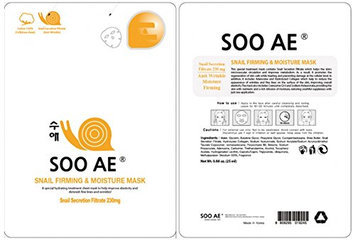 Soo Ae Snail Collagen Firming and Moisture Mask