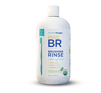 Essential Oxygen Organic Brushing Rinse Toothpaste Mouthwash Refill