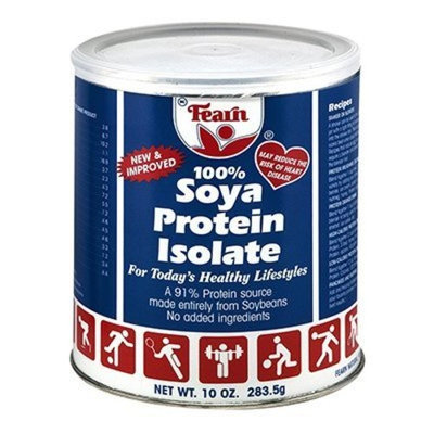 Fearn Soya Protein 100%, 10 Oz (Pack of 3)