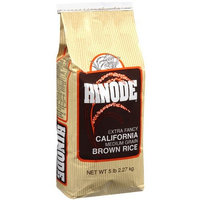 Hinode Extra Fancy California Medium Grain Brown Rice, 5 lb