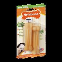 Nylabone Daily Dental Chicken Flavor Extra Small Dog Chew Toy
