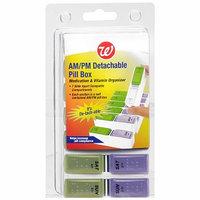 Walgreens AM/PM Detachable Pill Box