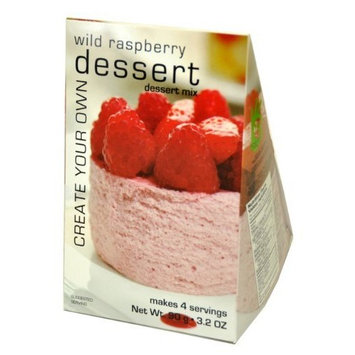 Foxy Gourmet Wild Raspberry Dessert Mix, 3.2 Ounce Boxes (Pack of 3)