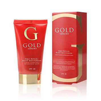 Gold Serums SPF 20 Aqua Repair Plus Hand Moisturizer