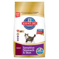 Hill's Science Diet Hill'sA Science DietA Sensitive Stomach & Skin Adult Cat Food