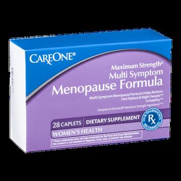 CareOne Menopause Formula Multi Sympton Maximum Strength - 28 CT