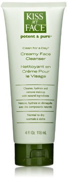 Kiss My Face Organic Clean for a Day Creamy Face Cleanser
