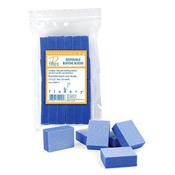 Flowery Disposable Buffing Blocks