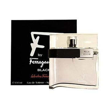 Salvatore Ferragamo F Ferragamo Black By Salvatore Ferragamo For Men Eau De Toilette Spray