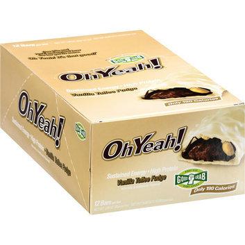 OhYeah! Vanilla Toffee Fudge Bars