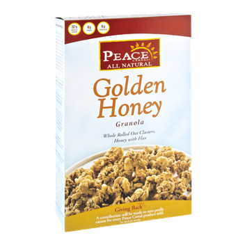 Peace Cereal All Natural Golden Honey Granola