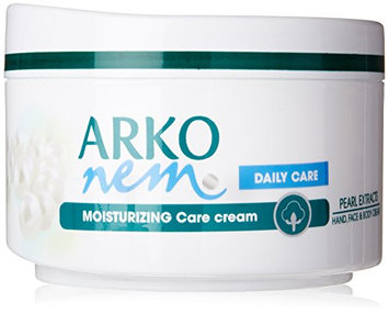 Arko Nem Pearl Touch Face Hand and Body Cream for Daily Use