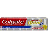 Colgate Total Anticavity Fluoride and Antigingivitis Toothpaste Gel Whitening