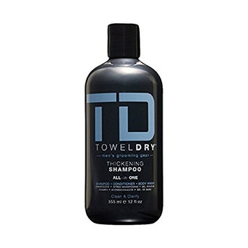 Towel Dry Thickening Shampoo All in One for Men