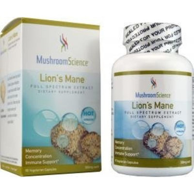 Mushroom Science Lion's Mane Extract 90 VegiCaps