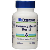 Life Extension Homocysteine Resist 750 Mg Capsules, 100 Count