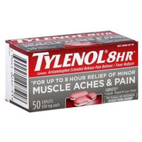 Tylenol Muscle Aches & Pain Relief, 50 caplets