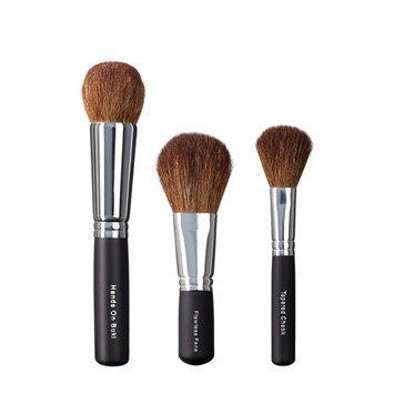 VEGAN LOVE Hand On Buki Flawless Face Tapered Cheek Brush Trio