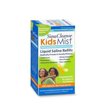 sinuCleanse Kids Mist Refills, Boxes (Pack of 2)