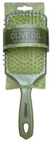 Swissco Pearl Finish Large Paddle Hair Brush with Cushion Polypins Infused with Olive Oil