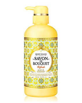 KOSE Savon De Bouquet Body Wash Refresh Pump