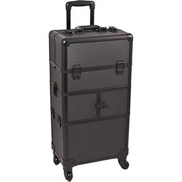 SUNRISE Makeup Case on Wheels 2 in 1 Professional Organizer I3464