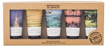 Upper Canada Soap Brompton and Langley Exotic Retreats Body Lotion Gift Set