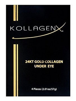 Kollagenx 24kt Gold Collagen Under Eye 4-piece Unit