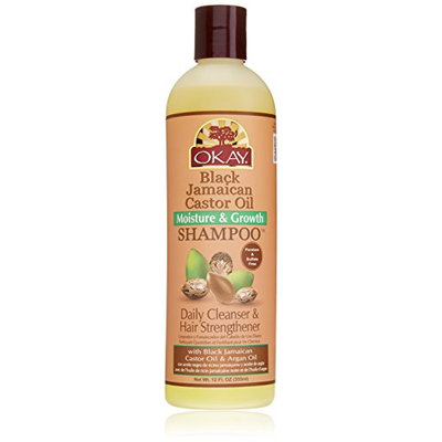 Okay Jamaican Castor Oil Moisture Growth Shampoo
